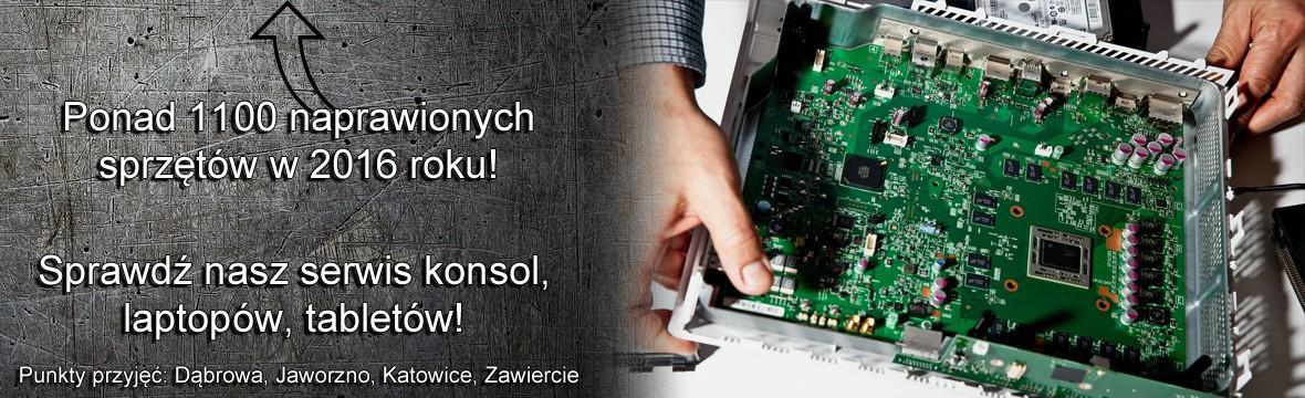 Serwis konsol Dąbrowa Górnicza, Jaworzno, Katowice, Śląskie naprawa konsol