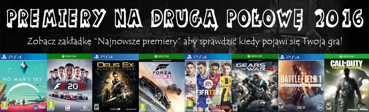 Premiery gier na PS4 i XBOX ONE 2016 xGameCenter Dąbrowa Jaworzno Katowice BIelsko