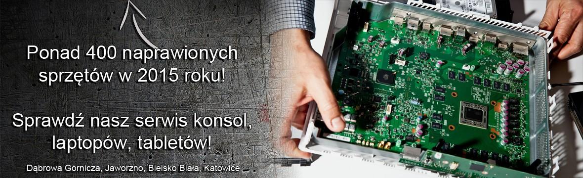 Serwis konsol Dąbrowa Górnicza, Jaworzno, Katowice, Bielsko Biała Śląskie naprawa konsol