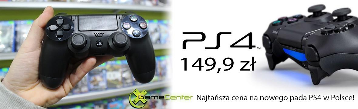 Nowy pad PS4 najtaniej w Polsce 149,9 xGameCenter Dąbrowa Górnicza, Jaworzno, Katowice